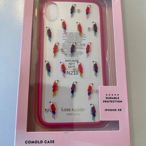 LKate Spade IPhone Comold Case XR Parrot